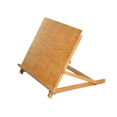Мольберт настільний упорний А3, переносний, дерев'яний (бук). Вага 1,8кг. Висота полотна до 34см.