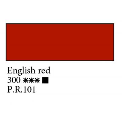 Англійська червона олійна фарба, 46мл, Ладога 300