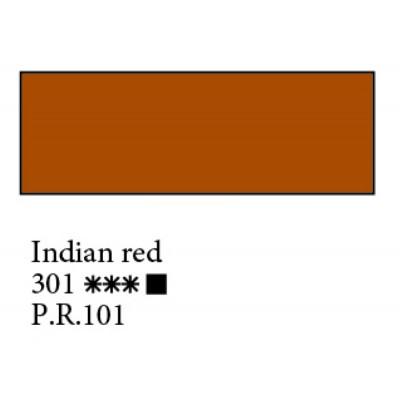 Індійська червона олійна фарба, 46мл, Ладога 301