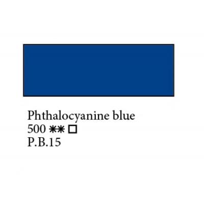 Блакитна ФЦ олійна фарба, 46мл, ЗХФ Ладога 500