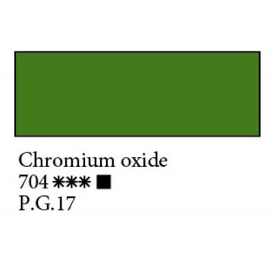 Окис хрому олійна фарба, 46мл, Ладога 704