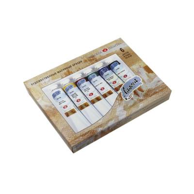 Набір олійних фарб Ладога, 10 кольорів по 46мл