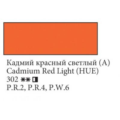 Кадмій червоний світлий (А) олійна фарба, 120мл, Ладога
