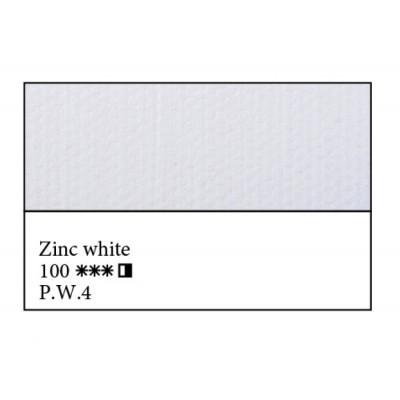 Білила цинкові олійна фарба, 46мл, ЗХФ Майстер Клас 100