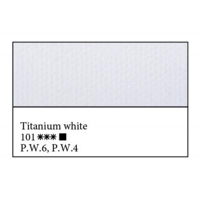 Білила титанові олійна фарба, 46мл, ЗХФ Майстер Клас 101