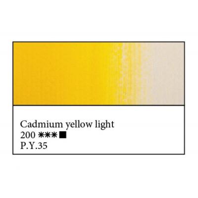 Кадмій жовтий світлий олійна фарба, 46мл, ЗХФ Майстер Клас 200