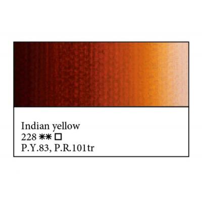 Індійська жовта олійна фарба, 46мл, ЗХФ Майстер Клас 228