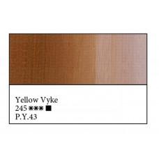 Жовта Вайк олійна фарба, 46мл, ЗХФ Майстер Клас 245