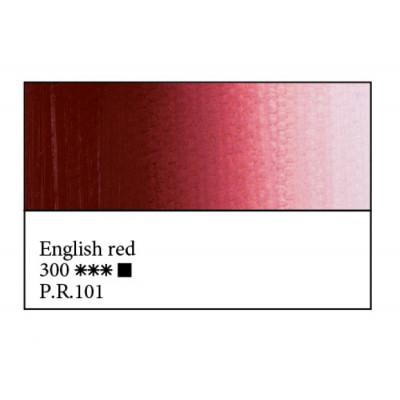 Англійська червона олійна фарба, 46мл, ЗХФ Майстер Клас 300