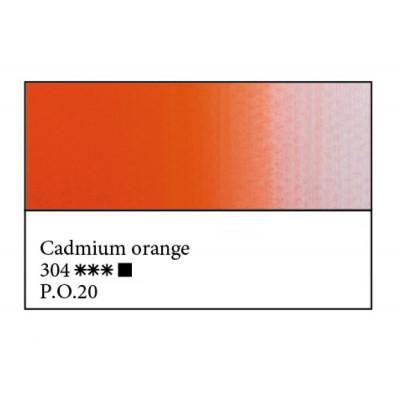 Кадмій оранжевий олійна фарба, 46мл, ЗХФ Майстер Клас 304