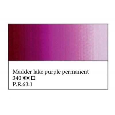 Краплак фіолетовий міцний олійна фарба, 46мл, ЗХФ Майстер Клас 340