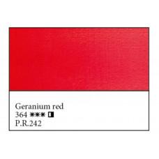 Геранієва червона олійна фарба, 46мл, Майстер Клас 364