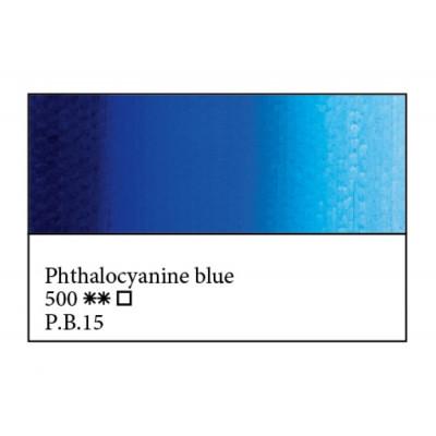 Блакитна ФЦ олійна фарба, 46мл, ЗХФ Майстер Клас 500