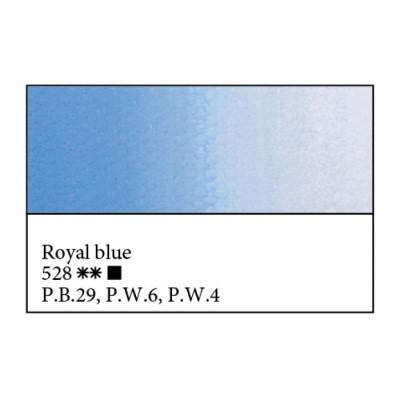 Королівська блакитна олійна фарба, 46мл, ЗХФ Майстер Клас 528