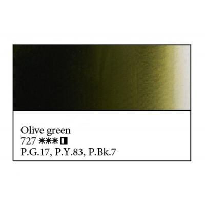 Оливкова олійна фарба, 46мл, ЗХФ Майстер Клас 727