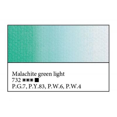 Малахітова світла олійна фарба, 46мл, ЗХФ Майстер Клас 732