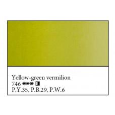 Кіновар жовто-зелена олійна фарба, 46мл, Майстер Клас 746