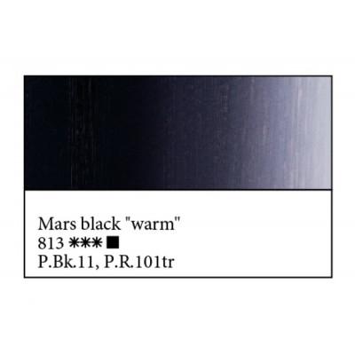 Марс чорний теплий олійна фарба, 46мл, ЗХФ Майстер Клас 813