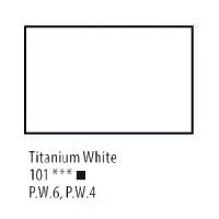 Білила титанові олійна фарба, 120мл, Сонет