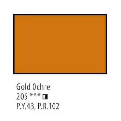 Охра золотиста олійна фарба, 120мл, Сонет