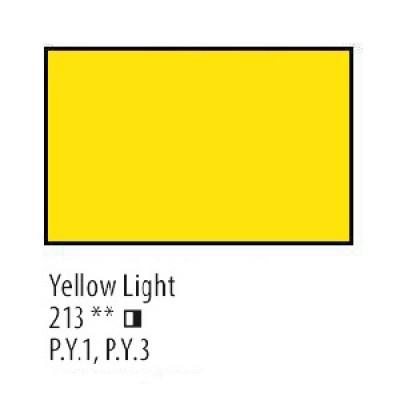 Жовта світла олійна фарба, 46мл, Сонет