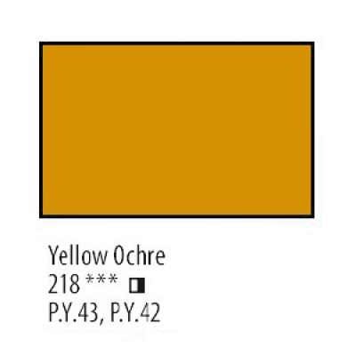 Охра жовта олійна фарба, 46мл, Сонет