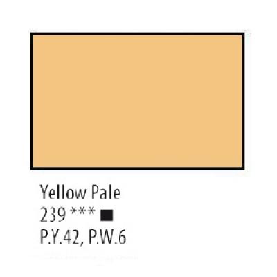 Жовта палева олійна фарба, 46мл, Сонет