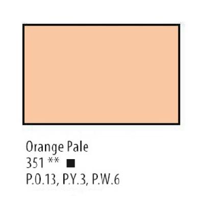 Оранжево-палева олійна фарба, 46мл, Сонет