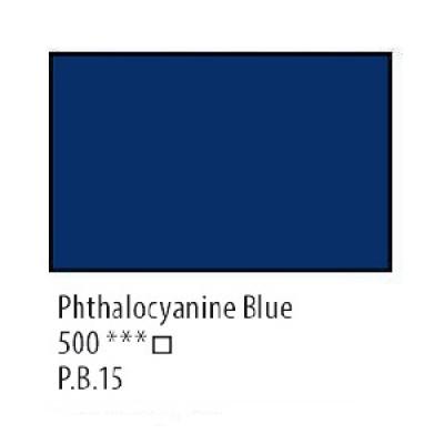 Блакитна ФЦ олійна фарба, 46мл, Сонет
