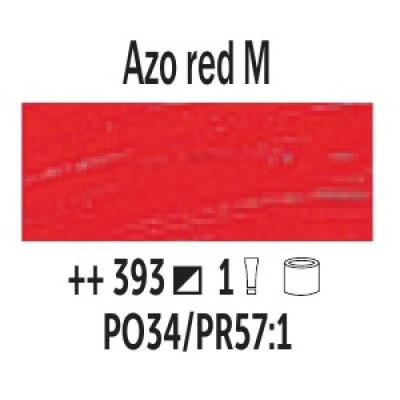 AZO Червоний середній (393), 40 мл., Van Gogh, олійна фарба