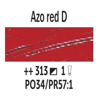 AZO Червоний темний (313), 200 мл., Van Gogh, олійна фарба