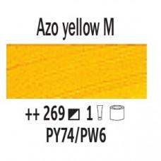 AZO Жовтий середній (269), 200 мл., Van Gogh, олійна фарба