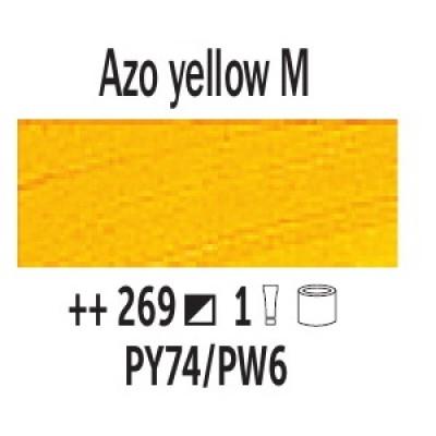 AZO Жовтий середній (269), 40 мл., Van Gogh, олійна фарба