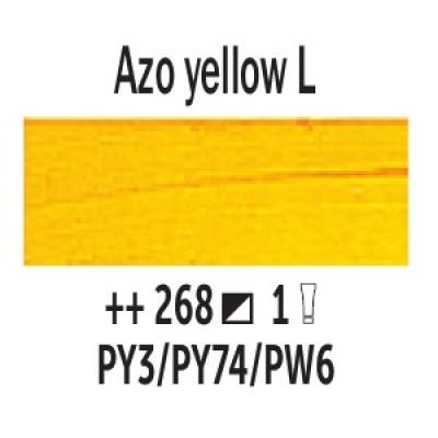 AZO Жовтий світлий (268), 200 мл., Van Gogh, олійна фарба