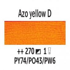 AZO Жовтий темний (270), 200 мл., Van Gogh, олійна фарба