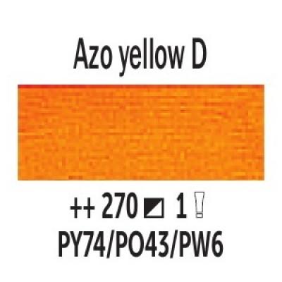 AZO Жовтий темний (270), 40 мл., Van Gogh, олійна фарба