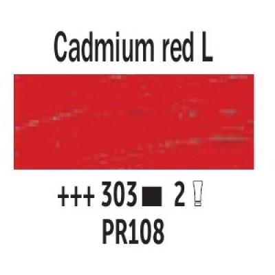 Кадмій червоний світлий (303), 40 мл., Van Gogh, олійна фарба