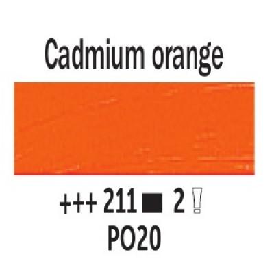 Кадмій оранжевий (211), 40 мл., Van Gogh, олійна фарба