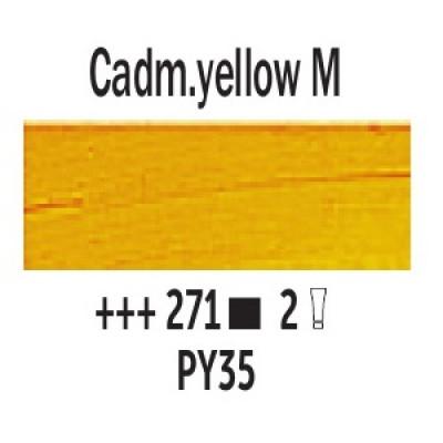 Кадмій жовтий середній (271), 40 мл., Van Gogh, олійна фарба
