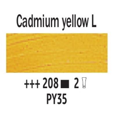 Кадмій жовтий світлий (208), 40 мл., Van Gogh, олійна фарба