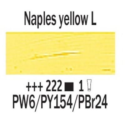 Неополітанський жовтий світлий (222), 40 мл., Van Gogh, масляна фарба