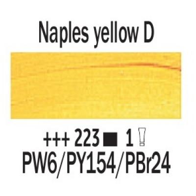Неополітанський жовтий темний (223), 200 мл., Van Gogh, масляна фарба