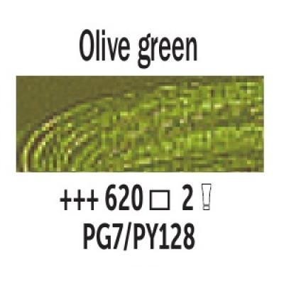 Оливковий зелений (620), 40 мл., Van Gogh, олійна фарба
