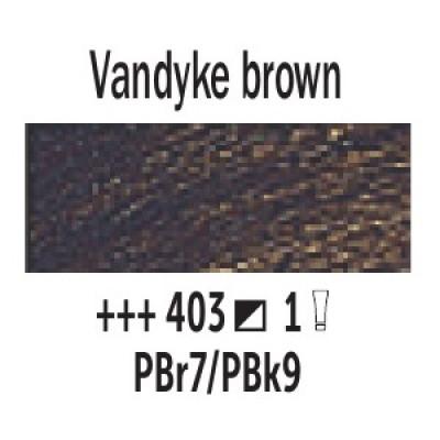 Ван Дік коричневий (403), 200 мл., Van Gogh, олійна фарба