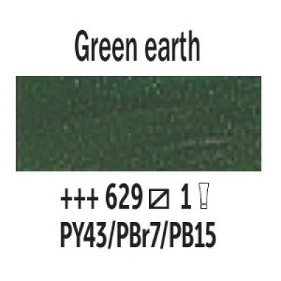 Зелена земля (629), 200 мл., Van Gogh, олійна фарба
