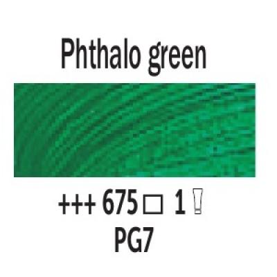 Зелений ФЦ (675), 200 мл., Van Gogh, олійна фарба