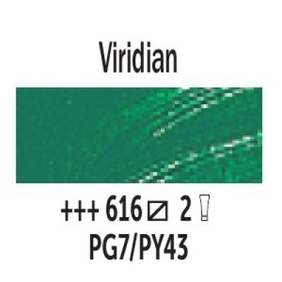 Зелений вірідоновий (616), 40 мл., Van Gogh, олійна фарба