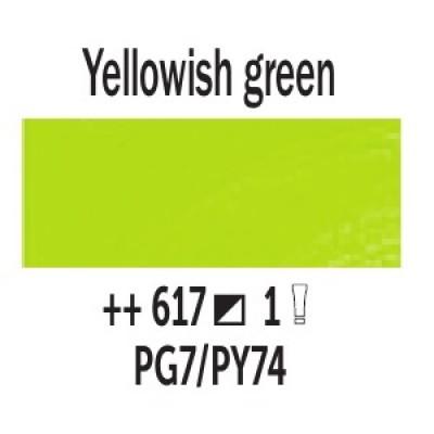 Жовтувато-зелений (617), 40 мл., Van Gogh, олійна фарба