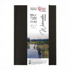 Блокнот для акварелі A5, 200г / м2, середнє зерно, 32 аркуша, Artistico CP (Fabriano), ROSA Gallery