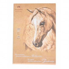 Планшет для пастелі і малюнка Ніжність, A4, 20л., Крафт-папір 200г / м2, Лілія Холдинг